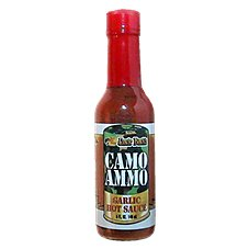 Bass Pro Shops Uncle Buck's Camo Ammo Garlic Hot Sauce