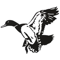 Bass Pro Shops Outdoor Action Decals - Mallard