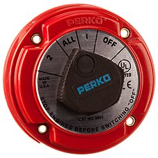 Perko Medium-Duty Battery Selector Switch - Ignition Protected