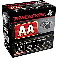 Winchester AA Supersport Sporting Clay Target Load Shotshells