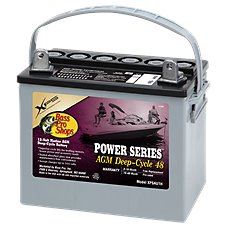 Bass Pro Shops XPS Power Series 12-Volt Marine AGM Deep-Cycle Battery
