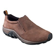 Merrell Nubuck Jungle Moc Shoes for Men