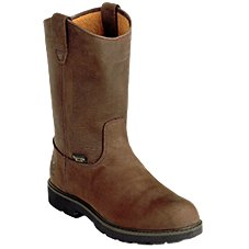 Georgia Boot Wellington Waterproof Steel Toe Work Boots for Men