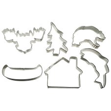 Northwoods Cookie Cutter Set
