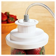 FoodSaver Jar Sealer and Wide-Mouth Jar Sealer