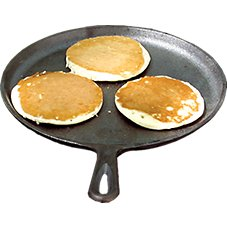 Lodge Logic Cast-Iron Round Griddle