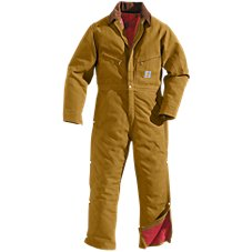 Carhartt Lined Duck Coveralls for Men