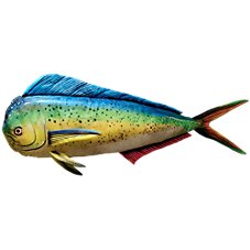 Bass Pro Shops Giant Stuffed Fish for Kids - Mahi Mahi
