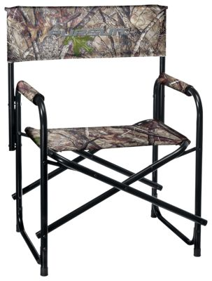 Ridge Hunter Camo Hunting Director's Chair - TrueTimber HTC