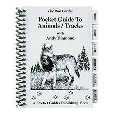 ''Pocket Guide to Animals/Tracks'' Book by Ron Cordes and Andy Diamond
