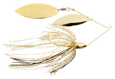 War Eagle Double Willow Spinnerbait – 1/2 oz. – Gold Shiner