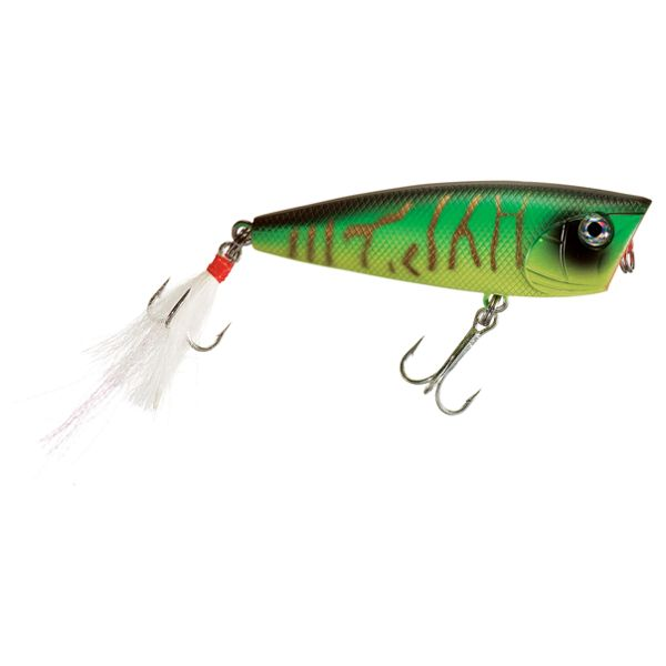 Bass Pro Shops XTS Lures Popper - Natural Gold Hot Tiger