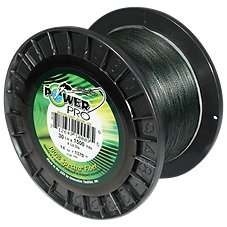 PowerPro Braided Spectra Fiber Micro Filament Line - 1500 yards