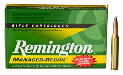 Remington Managed-Recoil Centerfire Rifle Ammo – 7mm Remington Magnum – 20 rounds
