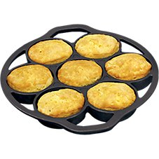 Lodge Logic Cast-Iron Drop Biscuit Pan