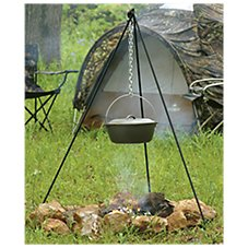 Lodge Tall Boy Camp Dutch Oven Tripod