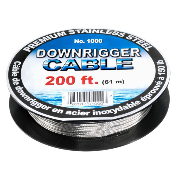 Scotty Premium Stainless Steel Downrigger Cable - Cable Only -300'