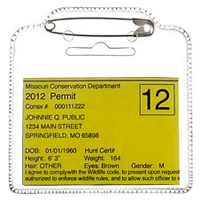 Bass Pro Shops Fishing License Holder