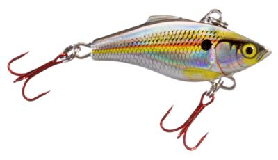 Rapala Freshwater Rattlin Rapala 2 38 oz Holographic Shad Red Hook