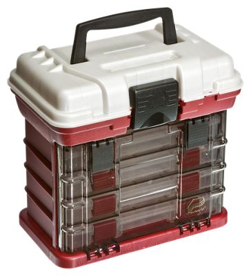 Plano 1354 4-By Rack Tackle System - Red/Silver