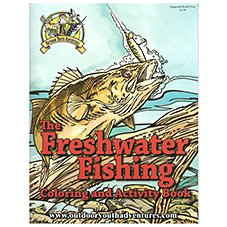 Freshwater Fishing Coloring and Activity Book for Kids