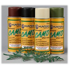 Hunter's Specialties H.S. Camo Permanent Camo Paint Kit