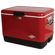 Coleman 54-Quart Steel-Belted Cooler - Red