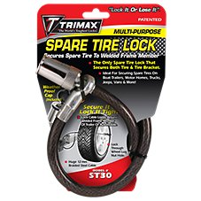 Trimax Trimaflex Spare Tire Cable Lock Bass Pro Shops
