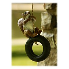 Tire Buddy Yard Ornament - Squirrel