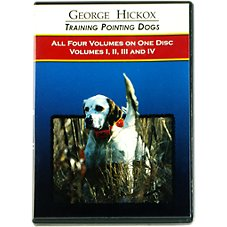 George Hickox Training Pointing Dogs DVDs - Collection of Volumes I - IV