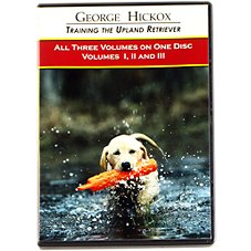 George Hickox ''Training Upland Retrievers Vol. 1-3'' Video - DVD