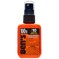 Ben's 100 MAX DEET Tick & Insect Repellent - 1.25 oz. Pump Bottle