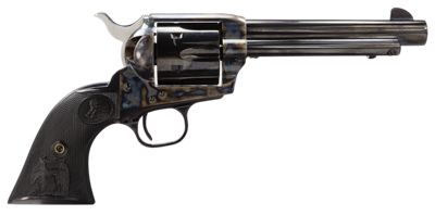 Colt Single Action Army Color Case/Blue Revolver by