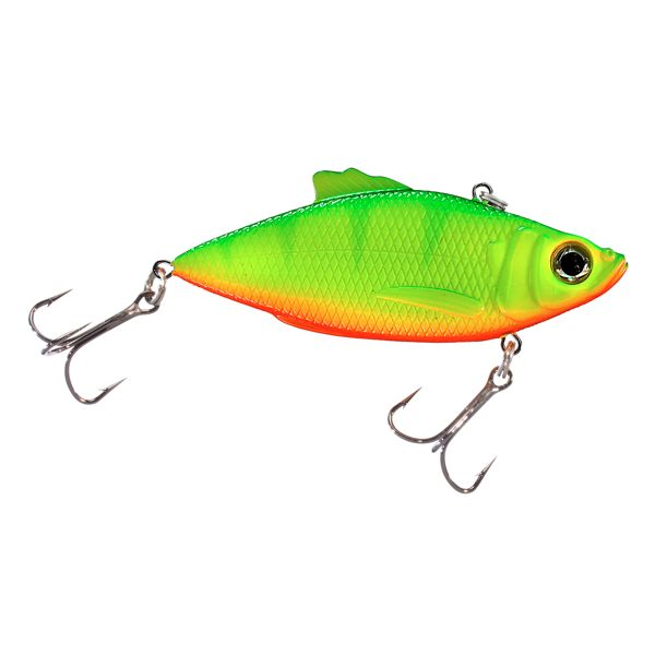 Bass Pro Shops XTS Rattle Shad - 2' - Lemon Lime