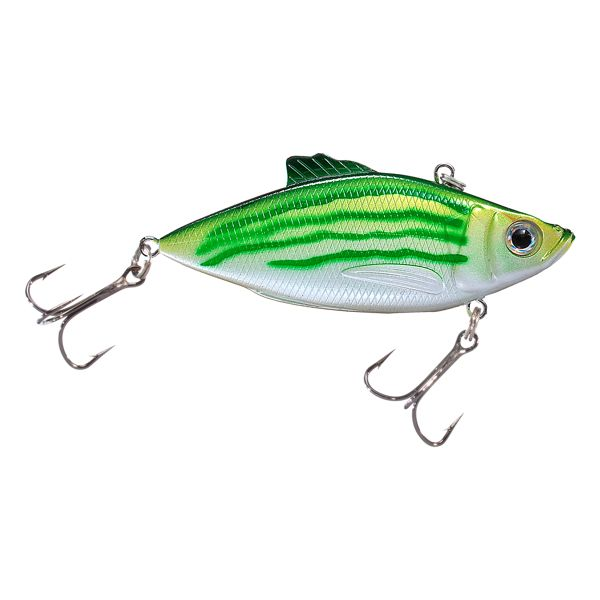 Bass Pro Shops XTS Rattle Shad - 2' - Green Shore Minnow