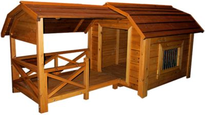 Merry Products Wooden Dog House - The