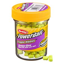 Berkley PowerBait Chromo-Glow Crappie Nibbles