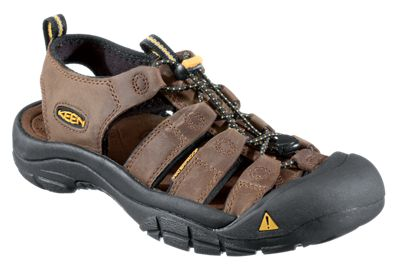 92b13fe8d0a9 KEEN Newport Leather Hiking Sandals for Men Bison 105M