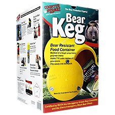 Counter Assault Bear Keg - Bear Resistant Food Container