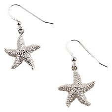 Kabana Jewelry Sterling Silver Starfish Earrings
