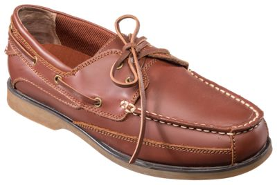 World Wide Sportsman Anchor Boat Shoes for Men - Tan - 11 W