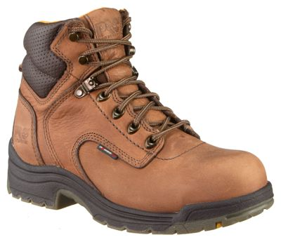 Timberland Pro TiTAN Safety Toe Work Boots for Ladies - 9.5 M