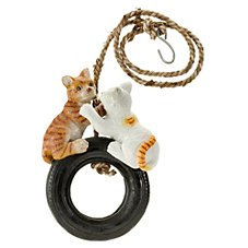 Tire Buddy Yard Ornament - Double Cats