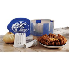 Bass Pro Shops Breader Bowl and Onion Blossom Maker