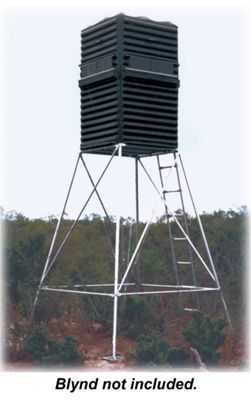 Blynd Hunting Blind Elevation Tower - 10' - Single Tower thumbnail