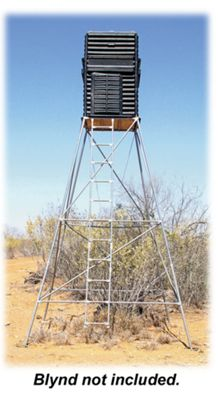 Blynd Hunting Blind Elevation Tower - 15' - Single Tower thumbnail