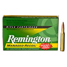 Remington Managed-Recoil Centerfire Rifle Ammo