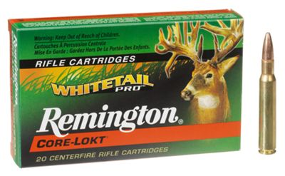 Remington Whitetail Pro Core-Lokt Centerfire Rifle Ammo – .243 Winchester