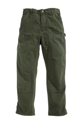 Carhartt Washed-Duck Double-Front Work Pants for Men