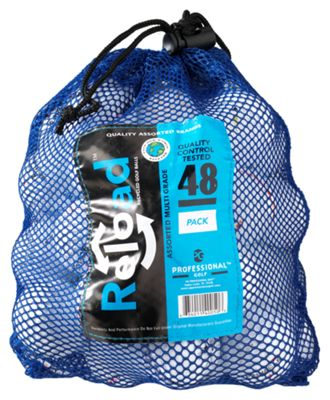 Reload Recycled Golf Balls - 48-Pack